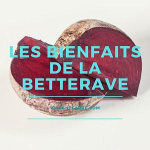 betterave bienfaits