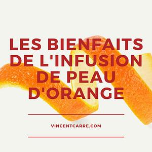 infusion peau orange
